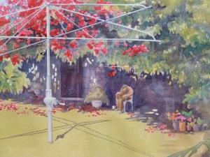 Back Garden detail